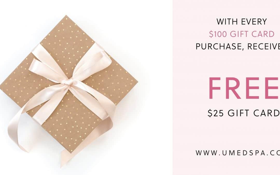 Huge gift card sale!